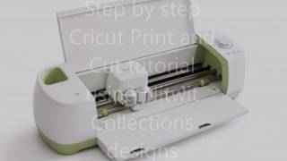 Cricut Print and Cut Tutorial using Nitwit Collections Designs