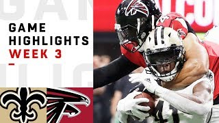 Saints vs. Falcons Week 3 Highlights | NFL 2018 | Kholo.pk