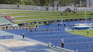 2017 Australian Championsips - U20 Decathlon 110mH