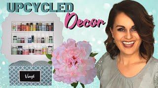 3 Amazing TRASH TO TREASURE Upcycled DIY Room Decor Ideas!