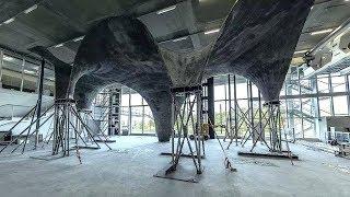 Ультратонкая бетонная крыша превратит дом в электростанцию