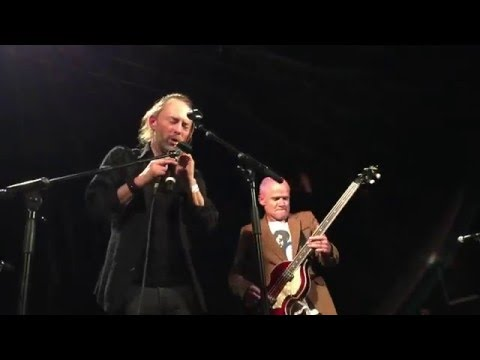 Thom Yorke & Flea - Atoms For Peace Live @ Pathway To Paris | 05.12.2015
