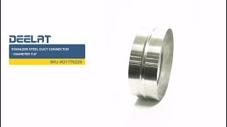 Stainless Steel Duct Connector – Diameter 11.8