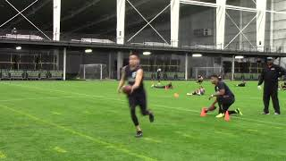 2021 National Scouting Combine LB Drills