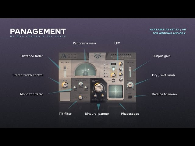 Introducing Panagement, advanced binaural panner