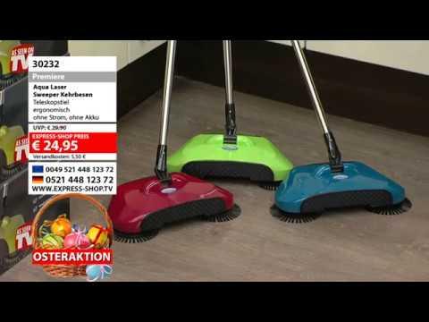 Express Shop Aqua Laser Sweeper Kehrbesen