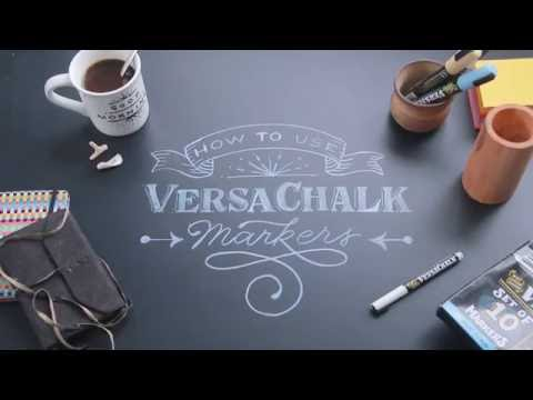 How to use Liquid Chalk Markers   Tutorial