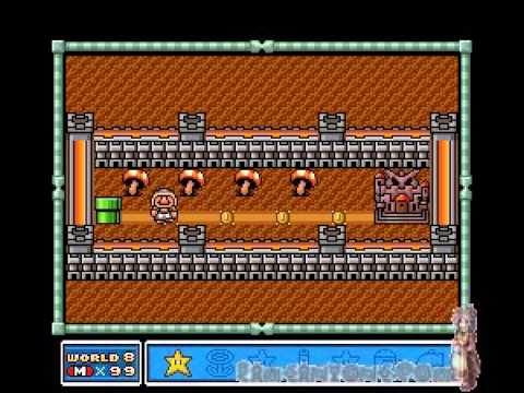 Super Mario Bros 3 Walkthrough - World 7 Part 1 by