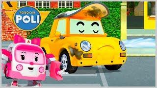 Поли Робокар Новогодний Проспект Города Брумс Robocar Poli Машинки игры для детей