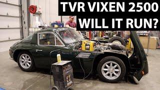 1972 TVR Vixen 2500 Will It Run?