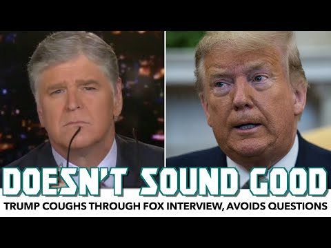 Trump Coughs Through Fox Interview, Avoids Test Results Question