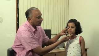 Lacrimal Massage to stop watering eye in children