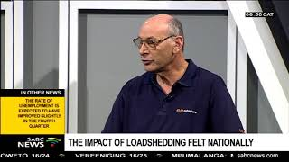 The Impact Of Loadshedding Felt Nationally