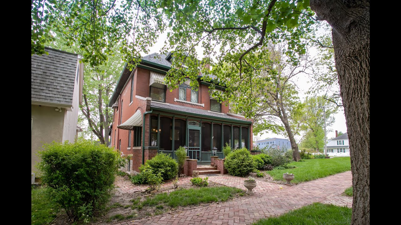 JUST LISTED ~ Your Chance to Own the Historic Circa 1902 Sybil Harvey House!