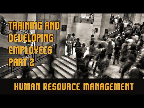 Training & Development Of Employees   Part 2   Human Resource ...