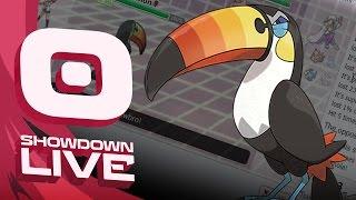 Toucannon  - (Pokémon) - Pokemon Sun and Moon! Showdown Live: Enter Toucannon - Toucannon Showcase!
