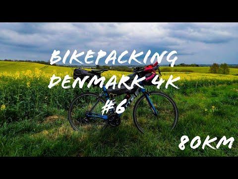 Dauerregen bis zum Mittag und wenig KM || Bikepacking Deutsch, Dänemark Tag #6   4K Video