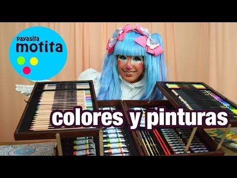 Maleta con colores Unboxing Kit de pinturas y colores