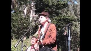 """Buddy Miller and Robert Plant Playing """"Somewhere Trouble Don't Go""""."""