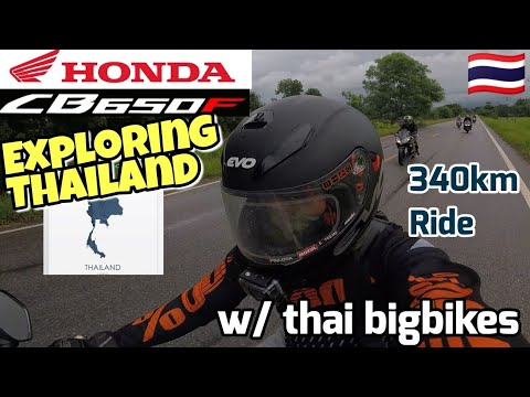 AMAZING THAILAND RIDE WITH HONDA CB650-F  (BANGKOK- KHAO YAI RIDE)