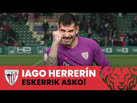 Despedida Iago Herrerín I Agurra I Eskerrik asko!