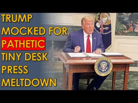 Trump Tiny Desk MELTDOWN mocked by CNN Panel