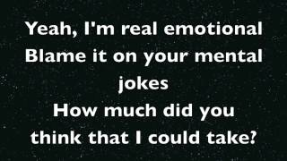 Miley Cyrus - Maybe You're Right (Lyrics)