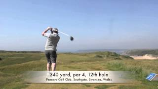 preview picture of video 'Pennard Golf Club'