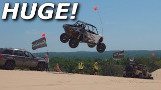 Beast Mode X3 RIPS, YXZ destroys itself, Turbo S goes HUGE! dunes!