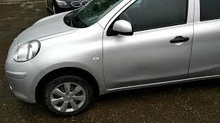 видео авто Nissan Micra в кредит