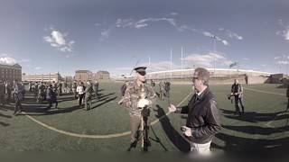 360: Marine Marching Band Interview and Practice