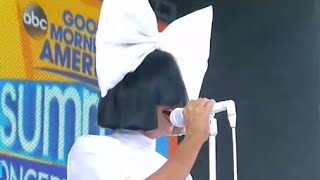 Sia - Unstoppable LIVE GMA Performance