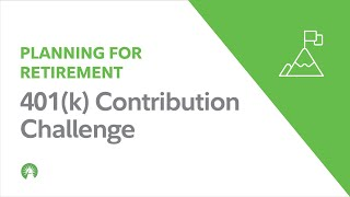 401(k) Contribution Challenge – Investing Basics   Fidelity