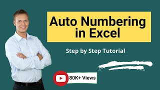 Auto Numbering in Excel   How to Automatically get Sequential Numbers?