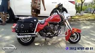 Mini Harley Davidson 50cc | Minimotor.co.id