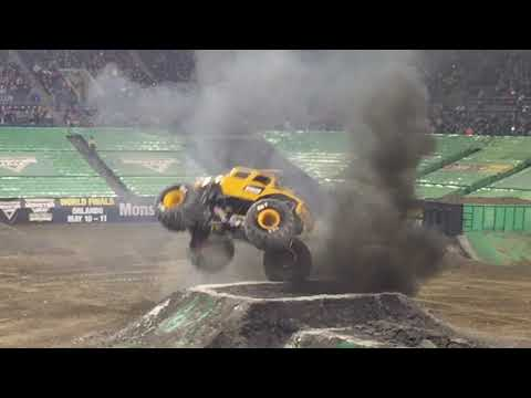 Monster Jam Freestyle Seattle, WA 2019