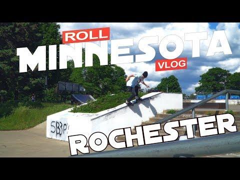 Rochester Skatepark Edit 2019 (Roll Minnesota: Silver Lake Park)