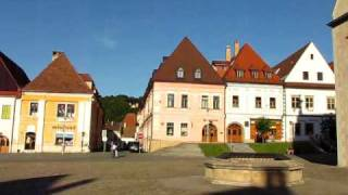preview picture of video 'Bardejov Radnicne Namestie / Town-Hall Square / Rathausplatz'