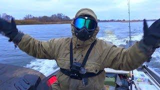 Клюнул СУДАК МЕГАЛОДОН, чуть не сломал спиннинг! Рыбалка в шторм или как мы поехали ловить карася!