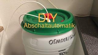 Update Osmoseanlage Abschaltautomatik