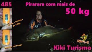 Pescaria com Pirarara de 50kg no KIKI - Fishingtur na TV 485