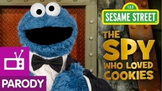 Sesame Street: The Spy Who Loved Cookies (007 Parody)