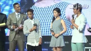 [tvdaily] Film 'After Earth' red carpet event ★Korean actor yeo jin-gu, Kim Yu-Jeong★