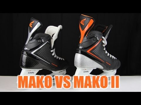 Original Easton Mako Skates vs Mako II Hockey Skates Review – Compared