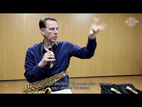 Timothy McAllister : how to choose a saxophone neck