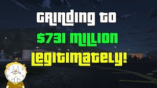 GTA Online Grinding To $731 Million Legitimately And Helping Subs
