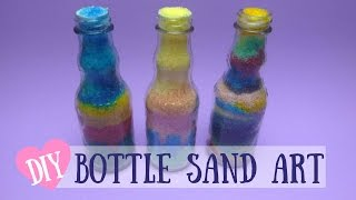 Bottle Sand Art - DIY Colorful Sand Art Made With Salt - Video Youtube