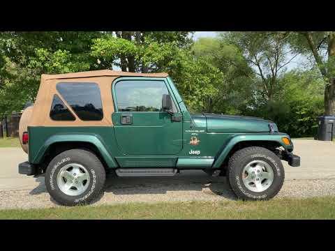 2001 Jeep® Wrangler Sahara in Big Bend, Wisconsin - Video 2