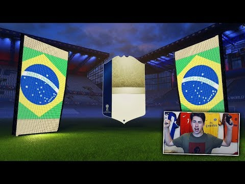 10 ICONS IN ONE FIFA 18 WORLD CUP PACK OPENING!