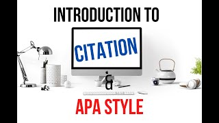 @ Introduction to Citation and APA Style